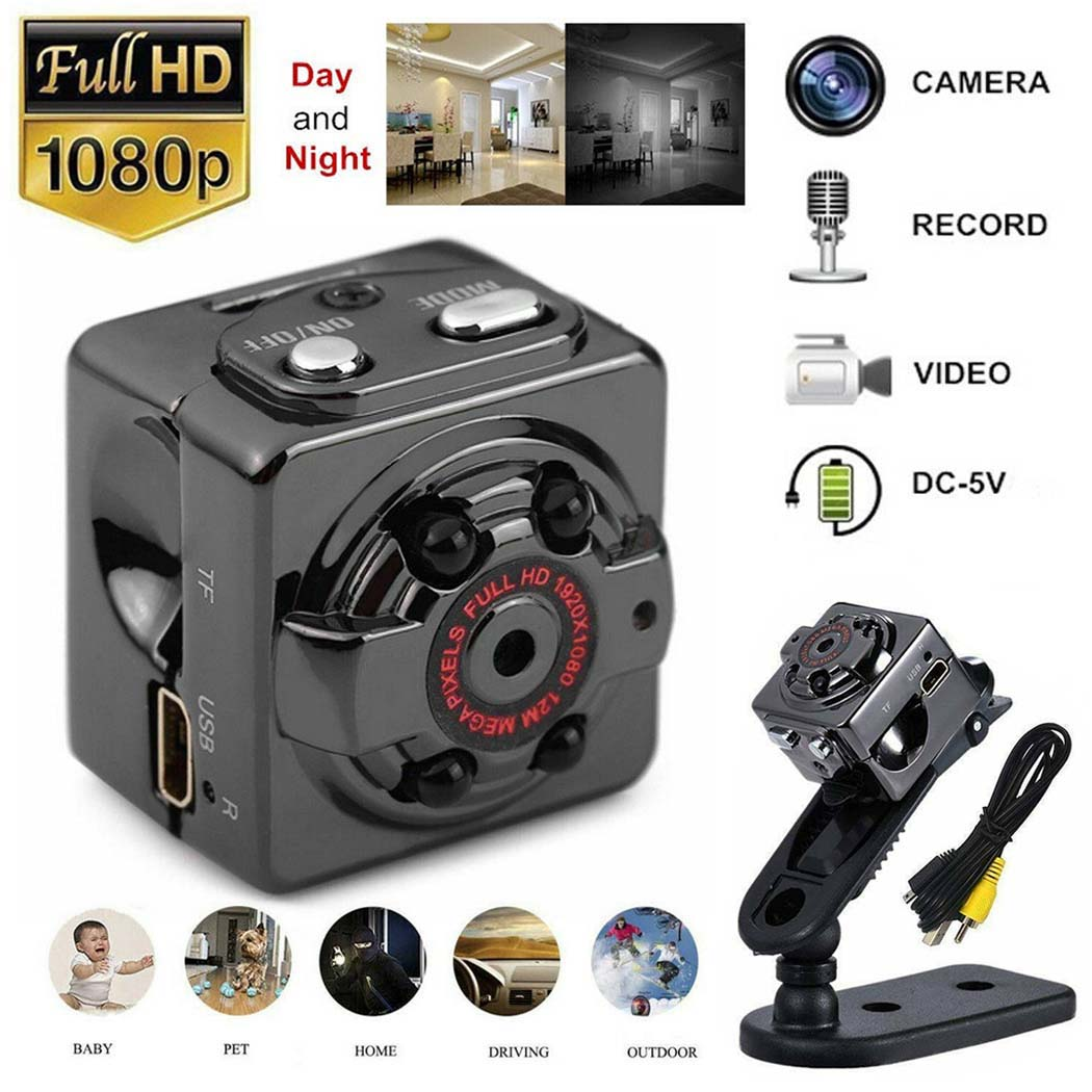 1080P HD Mini Hidden Camera Motion Detection Video Recorder Cam Night Vision